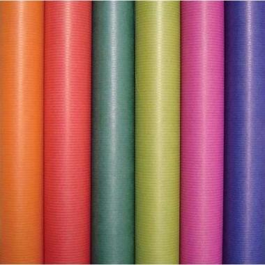 Kraft geschenkpapier groen 70 x 200 cm