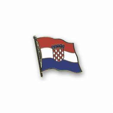 Kroatie vlaggetjes pin