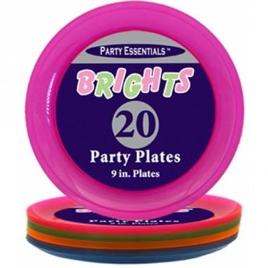 Kunststof neon borden 20 stuks