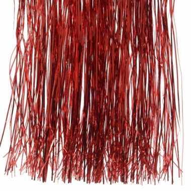 Lametta haar rood 50 cm