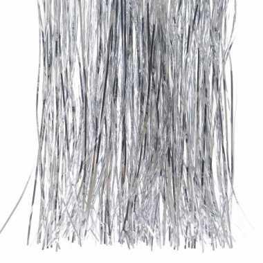 Lametta haar zilver 50 cm