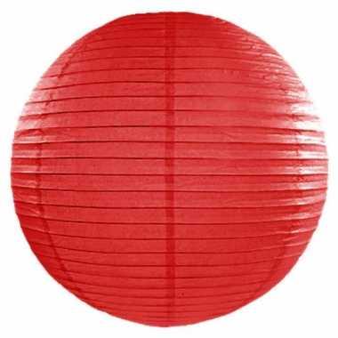 Lampion 50 cm rood
