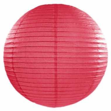 Lampion 50 cm roze