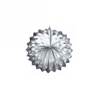 Lampion in zilveren kleur