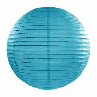 Lampion turquoise 35 cm