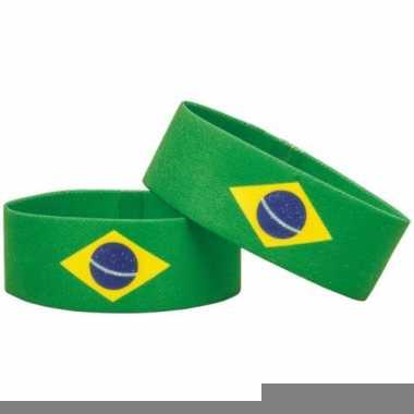 Landen armband brazilie