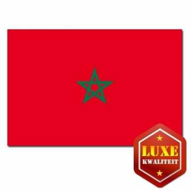 Landen vlaggen van marokko