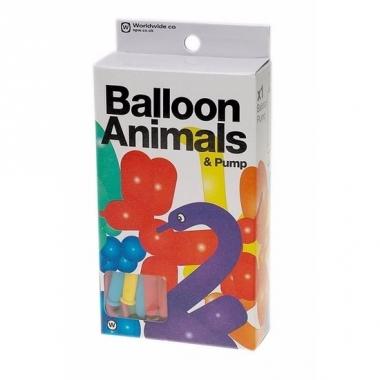 Lange ballonnen om dieren te vouwen 24 st