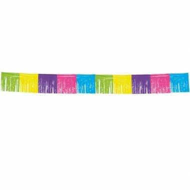 Lange slinger 10 meter gekleurd