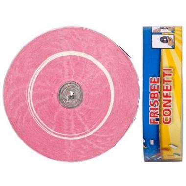 Langwerpige confetti in het roze
