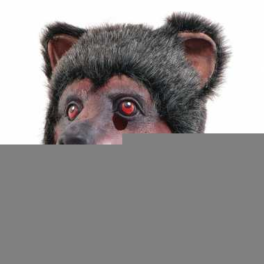 Latex dierenmasker beer