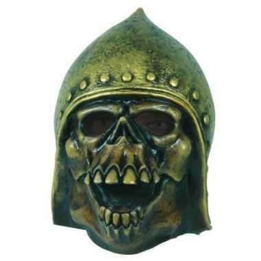 Latex horror masker skull + helm
