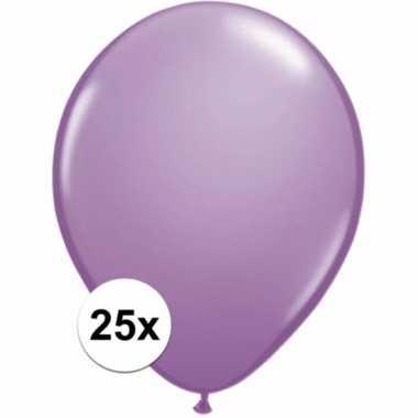 Lavendel decoratie ballonnen 25 stuks