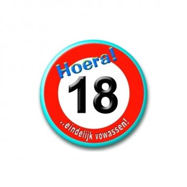 Leeftijd button 18 jaar