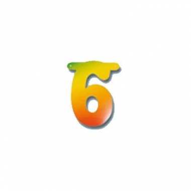 Leeftijd slinger cijfer 6