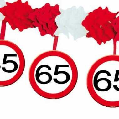 Leeftijd slingers 65 jaar