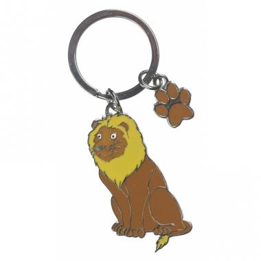 Leeuw sleutelhangers 5 cm