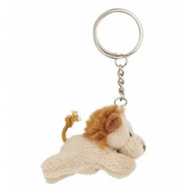 Leeuw sleutelhangers 6 cm