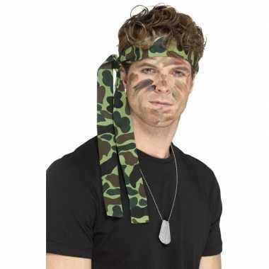 Leger accessoires verkleedset ketting en hoofdband