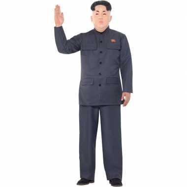 Leider kim jong un verkleed set voor heren