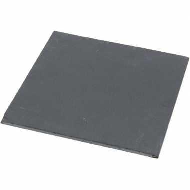 Leisteen serveerplank 30 x 30 cm
