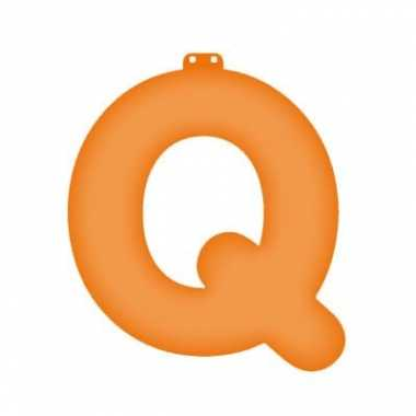 Letter q opblaasbaar