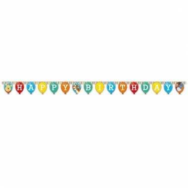Letter slingers happy birthday van winnie de poeh