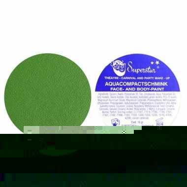 Lichaam en gezicht schmink groen