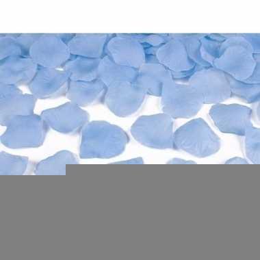 Lichtblauwe rozenblaadjes 100 stuks