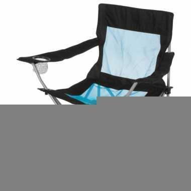 Lichtgewicht campingstoeltje met leuning