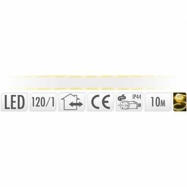 Lichtslang led strip geel buiten 10 meter