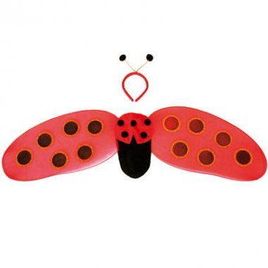 Lieveheersbeestje vleugels kinderen
