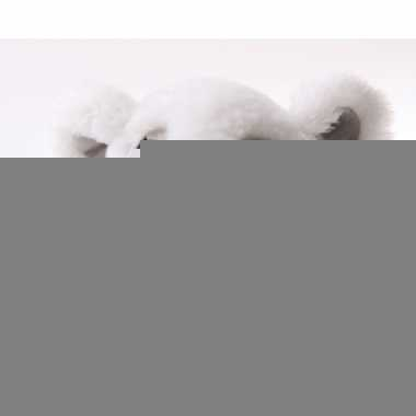 Liggende ijsbeer knuffel
