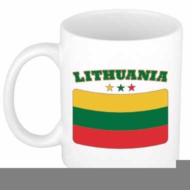Litouwse vlag theebeker 300 ml