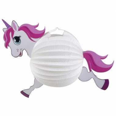 Little pony lampionnen wit 20 cm