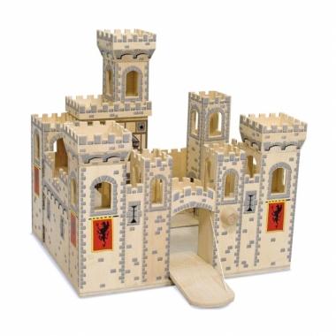 Luxe houten speel kasteel medieval trend