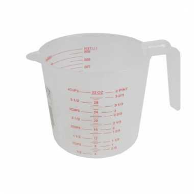 Maatbeker van 1 liter