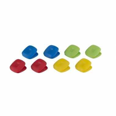 Magnetische koelkastclip set van 16