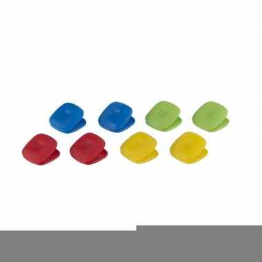 Magnetische koelkastclip set van 8