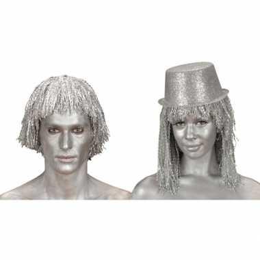 Make-up tube zilver