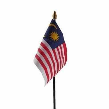 Maleisie vlaggetje met stokje