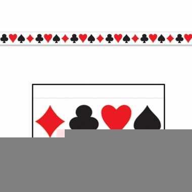 Markeerlint met casino kaartspel