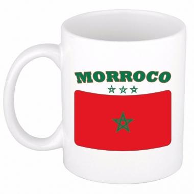 Marokkaanse vlag theebeker 300 ml