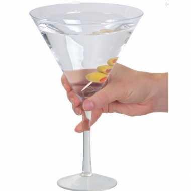 Martini glas extra groot