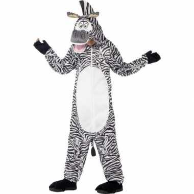 Marty de zebra outfit voor kinderen