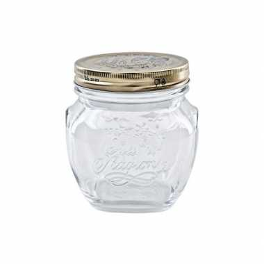 Mason jar met draaideksel 200 ml