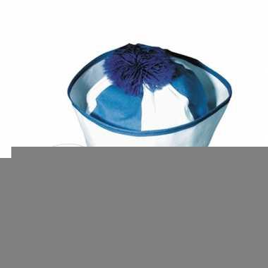 Matroos hoedjes blauw 20x en bijpassende zeeman tattoos