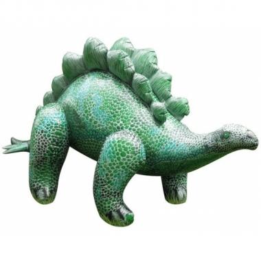 Mega realistische opblaas stegosaurus 117 cm