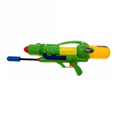 Mega watergeweer groen met pomp