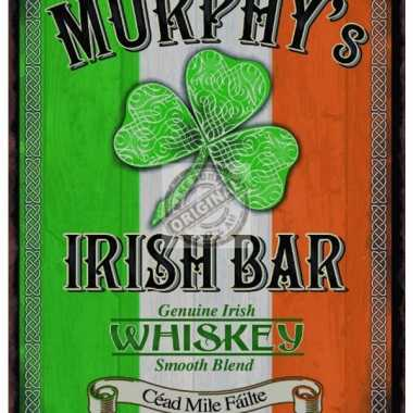 Metalen plaat murphys irish bar